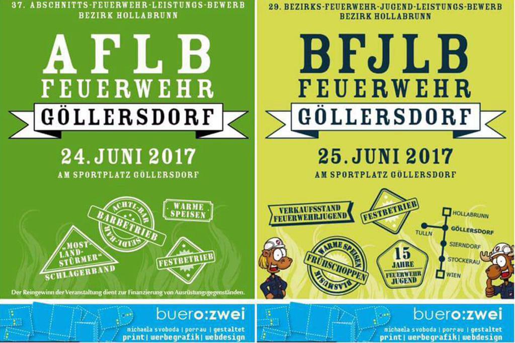 FFW Göllersdorf löscht Durst mit Bauer-Wein!