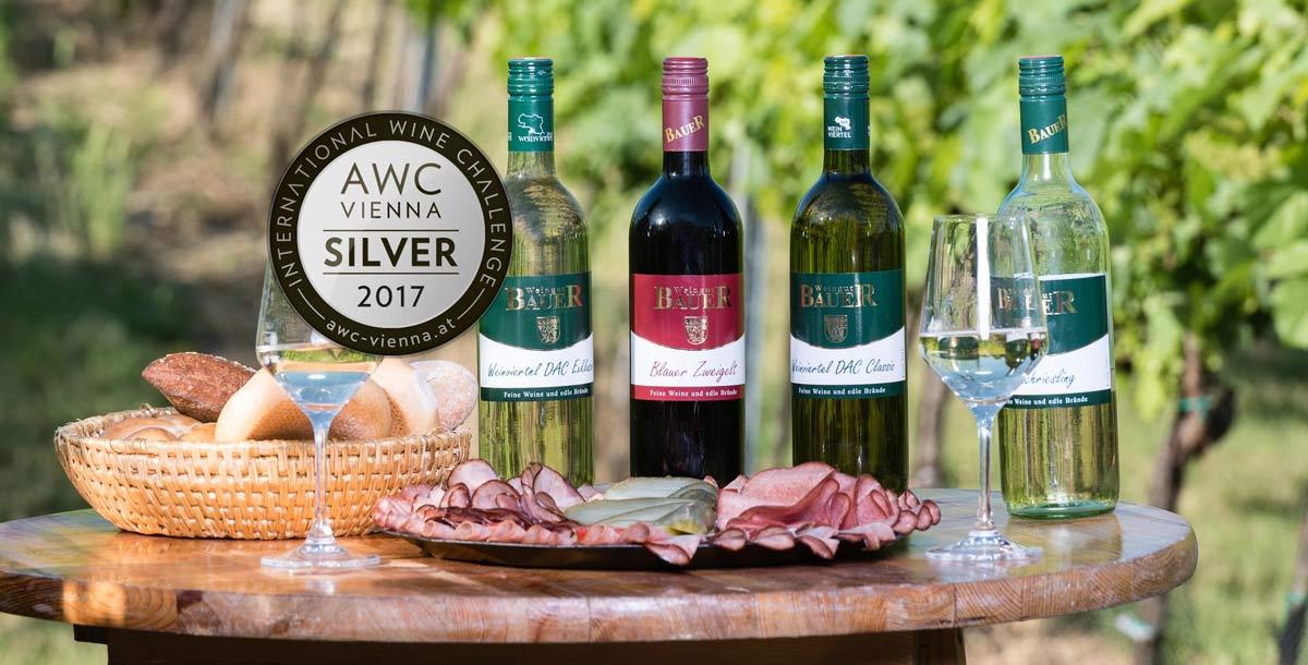 AWC-Silbermedaille für unseren Weinviertel DAC Classic
